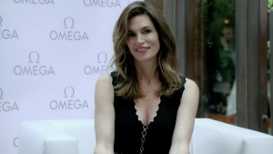 Omega Cindy Crawford
